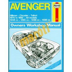 Avenger Hillman Chrysler Talbot (1970-1982)