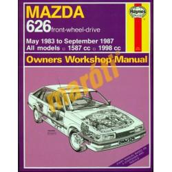 Mazda 626 (May 83 - Sept 87) All models