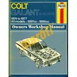 Colt Galant & Celeste (1974-1977) - szépséghibás (Javítási kézikönyv)