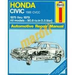 Honda Civic 1500 CVCC 1975 thru 1979