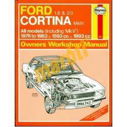 Ford 1.6 & 2.0 Cortina MklV