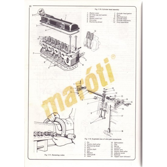 Talbot/Chrysler Alpine & Solara Minx & Rapier - sérült