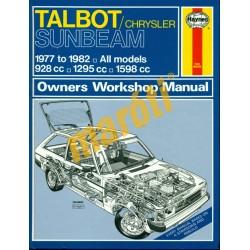 Talbot/Chrysler Sunbean (1977-1982 Összes model)