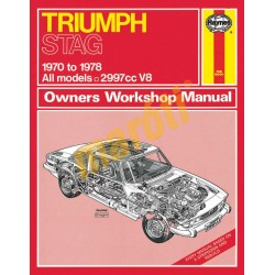 Triumph Stag (1970 - 1978) up to T