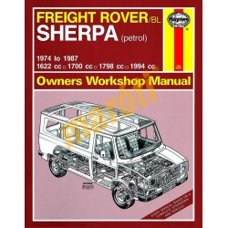 Freight Rover Sherpa Petrol (1974 - 1987) up to E