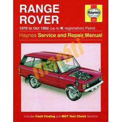 Range Rover V8 Petrol (1970 - Oct 1992) up to K
