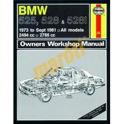 BMW 525, 528 & 528i (1973 - Sept 1981) up to X