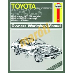 Toyota Corolla (1980 - 1985) up to C