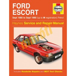 Ford Escort Petrol (Sept 80 - Sept 90) up to H