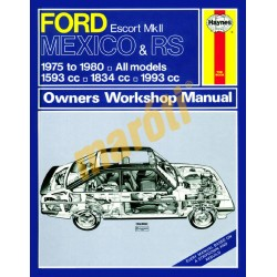 Ford Escort Mk II Mexico, RS 1800 & RS 2000 (1975 - 1980) up to W