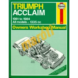Triumph Acclaim (1981-1984)