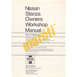 Nissan/Datsun Stanza (1982-1986)
