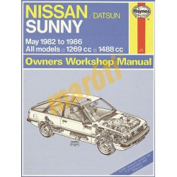 Nissan Sunny Petrol (May 82 - Oct 86) up to D
