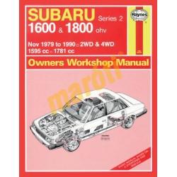 Subaru 1600 & 1800 (Nov 79 - 1990) up to H