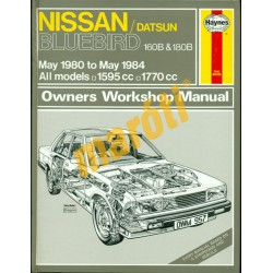 Nissan/Datsun Bluebird 160B & 180B