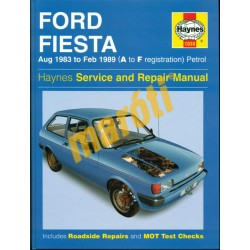 Ford Fiesta Aug (1983 to Feb 1989 Petrol)