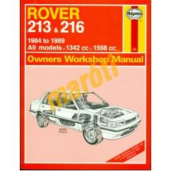 Rover 213 & 216 (1984-1989)