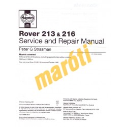 Rover 213 & 216 A to G registration (1984-1989)