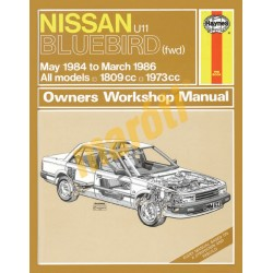 Nissan Bluebird (May 84 - Mar 86) A to C