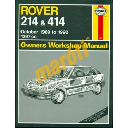 Rover 214 & 414 (October 1989 to 1992)
