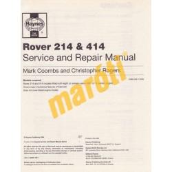 Rover 214 & 414  (214 Oct 1989 to Mar 1996 petrol 414 Mar 1990 to 1995 Petrol)