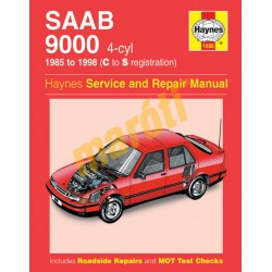Saab 9000 (4-cyl) (1985 - 1998) C to S