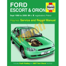 Ford Escort & Orion Petrol (Sept 90 - 00) H to X