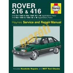 Rover 216 & 416 Petrol (1989 - 1996) G to N