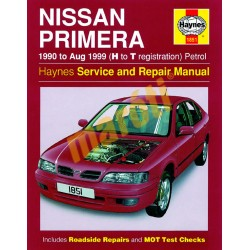Nissan Primera Petrol (1990 - Aug 99) H to T