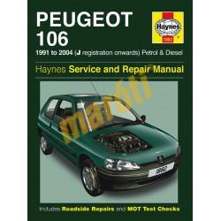 Peugeot 106 Petrol & Diesel (1991 - 04) J to 53