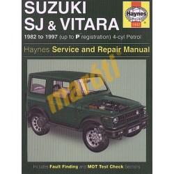 Suzuki SJ Series, Samurai & Vitara (4-cyl) Petrol (1982 - 1997) up t