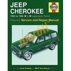 Jeep Cherokee Petrol (1993 - 1996) K to N