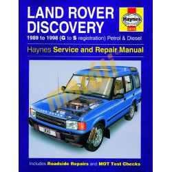 Land Rover Discovery Petrol & Diesel (1989 - 1998) G to S