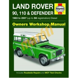 Land Rover 90, 110 & Defender Diesel (1983 - 07) up to 56