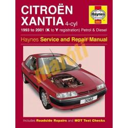 Citroen Xantia Petrol & Diesel (1993 - 01) K to Y