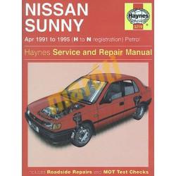 Nissan Sunny Petrol (Apr 91 - 1995) H to N