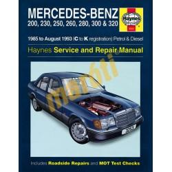 Mercedes-Benz 124 Series Petrol & Diesel (1985 - Aug 93) C to K