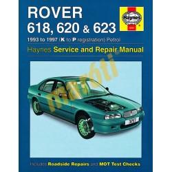 Rover 618, 620 & 623 Petrol (1993 - 1997) K to P (HASZNÁLT)