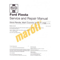 Ford Fiesta Petrol & Diesel (Oct 95 - Mar 02) N to 02