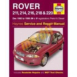 Rover 211, 214, 216, 218 & 220 Petrol & Diesel (Dec 1995 - 1999) N t