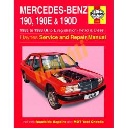 Mercedes-Benz 190, 190E & 190D Petrol & Diesel (1983 - 1993) A to L