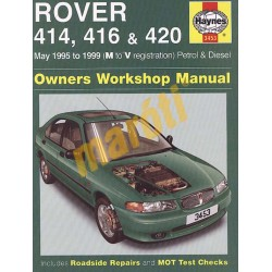 Rover 414, 416 & 420 Petrol & Diesel (May 95 - 1999) M to V