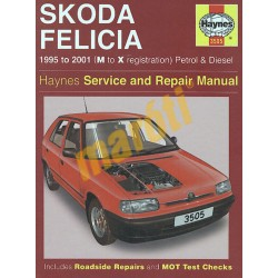 Skoda Felicia Petrol & Diesel (1995 - 01) M to X
