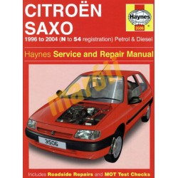 Citroen Saxo Petrol & Diesel (1996 - 04) N to 54