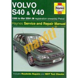 Volvo S40 & V40 Petrol (1996 - Mar 04) N to 04