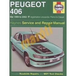Peugeot 406 Petrol & Diesel (Mar 99 - 02) T to 52