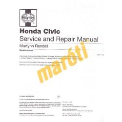 Honda Civic Petrol (Mar 95 - 00) M to X