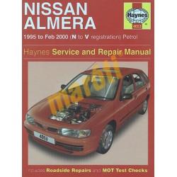Nissan Almera Petrol (1995 - Feb 00) N to V