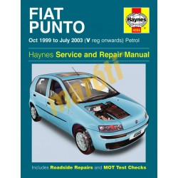 Fiat Punto Petrol (Oct 99 - July 03) V to 03