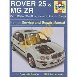 Rover 25 & MG ZR Petrol & Diesel (Oct 99 - 04)